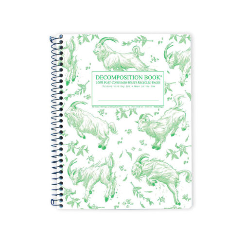 Decomposition Book - Large Notebook - Ruled - Goatbook