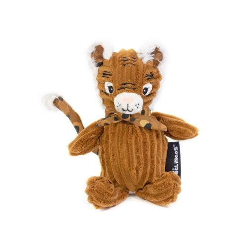 Les Deglingos Small Simply Plush Toy - Speculos the Tiger