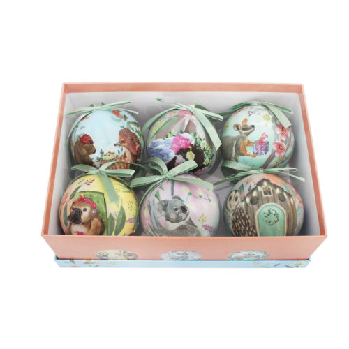 Bauble Set At Home For Christmas