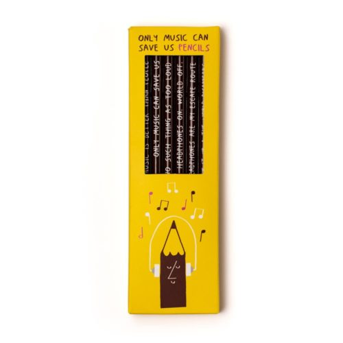 Sharp & Blunt Pencil Set - Only Music Can Save Us