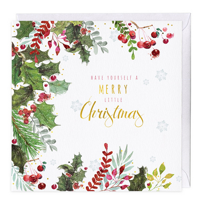 Whistlefish Christmas Card - Have Yourself A Merry Little Christmas