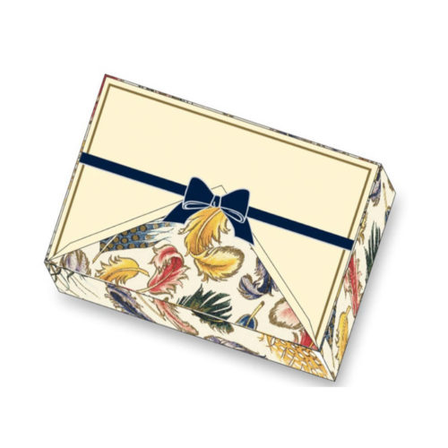 Rossi Premium Boxed Writing Set - Coloured Feathers