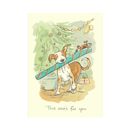 Two Bad Mice Christmas Card - This One's For You