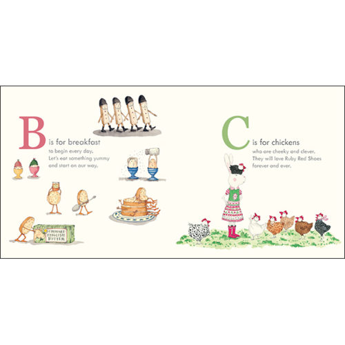 Ruby Red Shoes Book - Alphabet