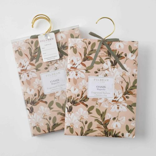 Scented Hanging Sachets - Oasis - Magnolia