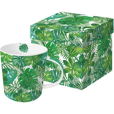 Paper Products Design Mug - Feuilles Tropicales